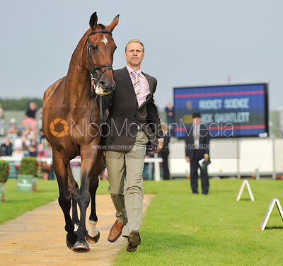 Nick Gauntlett and Rocket Science - 2nd Inspection - Burghley 2010