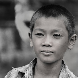 """Child at Banteay Srei - 2"""