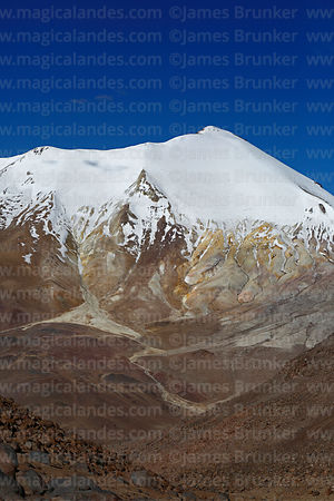 West face of Acotango volcano, Lauca National Park, Region XV, Chile