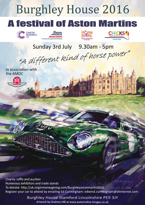 The Burghley House Aston Martin Gathering (2nd-3rd July 2016)