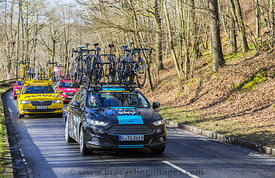 Group of Technical Cars - Paris-Nice 2017