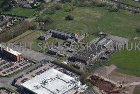Manchester aerial photographs of the old Ferranti Electronics factory Simonsway Wythenshaw