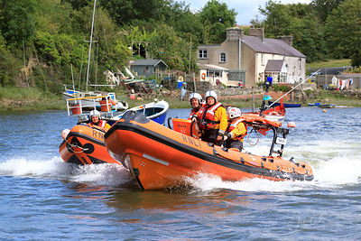 RNLI demonstration