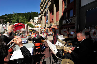 Swing Dance Orchestra Berlin at Festival da Jazz- Live at CAFÉ HAUSER in St.Moritz