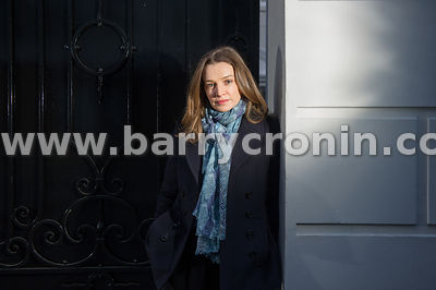 26th January, 2015. Actress Catherine Walker photographed in Dublin.Catherine was born in 1975 in Dublin, Ireland. She is an ...