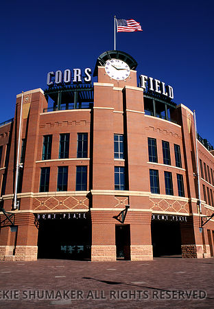 Coors Field Entrance