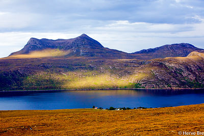 Highlands western landscapes in Scotland