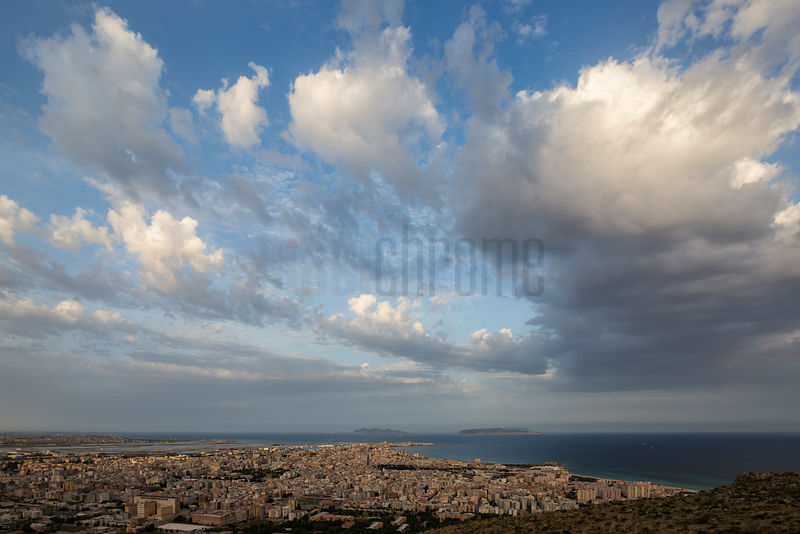 Clouds over Trapani at Sunrise