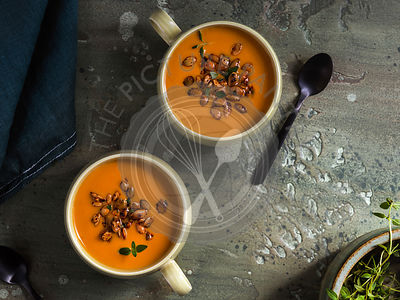 Roasted Pumpkin Soup 2