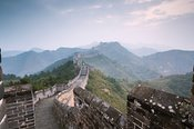 The Great Wall at sunrise, Jinshanling, China