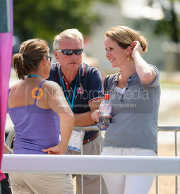 Alice Fox-Pitt, Yogi Breisner - LOCOG Greenwich Park Olympic Test Event, July 2011