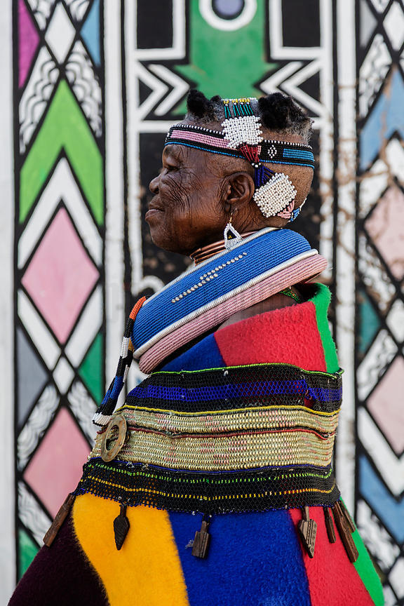 Portrait of Esther Mahlangu