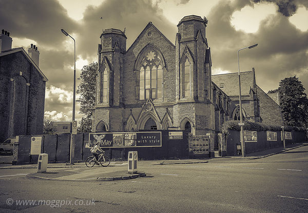 Former Belvidere Road Church, Toxteth, Liverpool