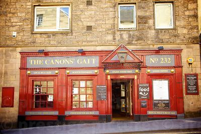 The Canons' Gait bar in Edinburgh