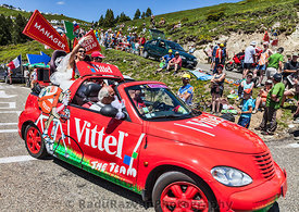Funny Vittel's Car in Pyrenees