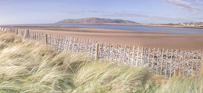 Beach on North wales coast