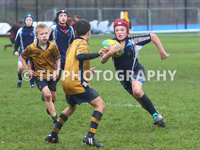 U11A Rugby v Colston. 5th December 2018.