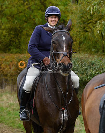 Louise Bevin near Gartree Covert - Quorn Hunt Opening Meet 2016