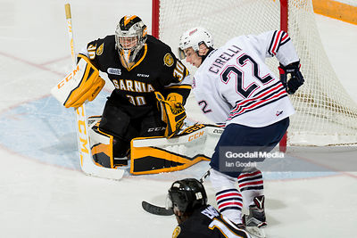 Oshawa Generals vs Sarnia Sting on October 21, 2016
