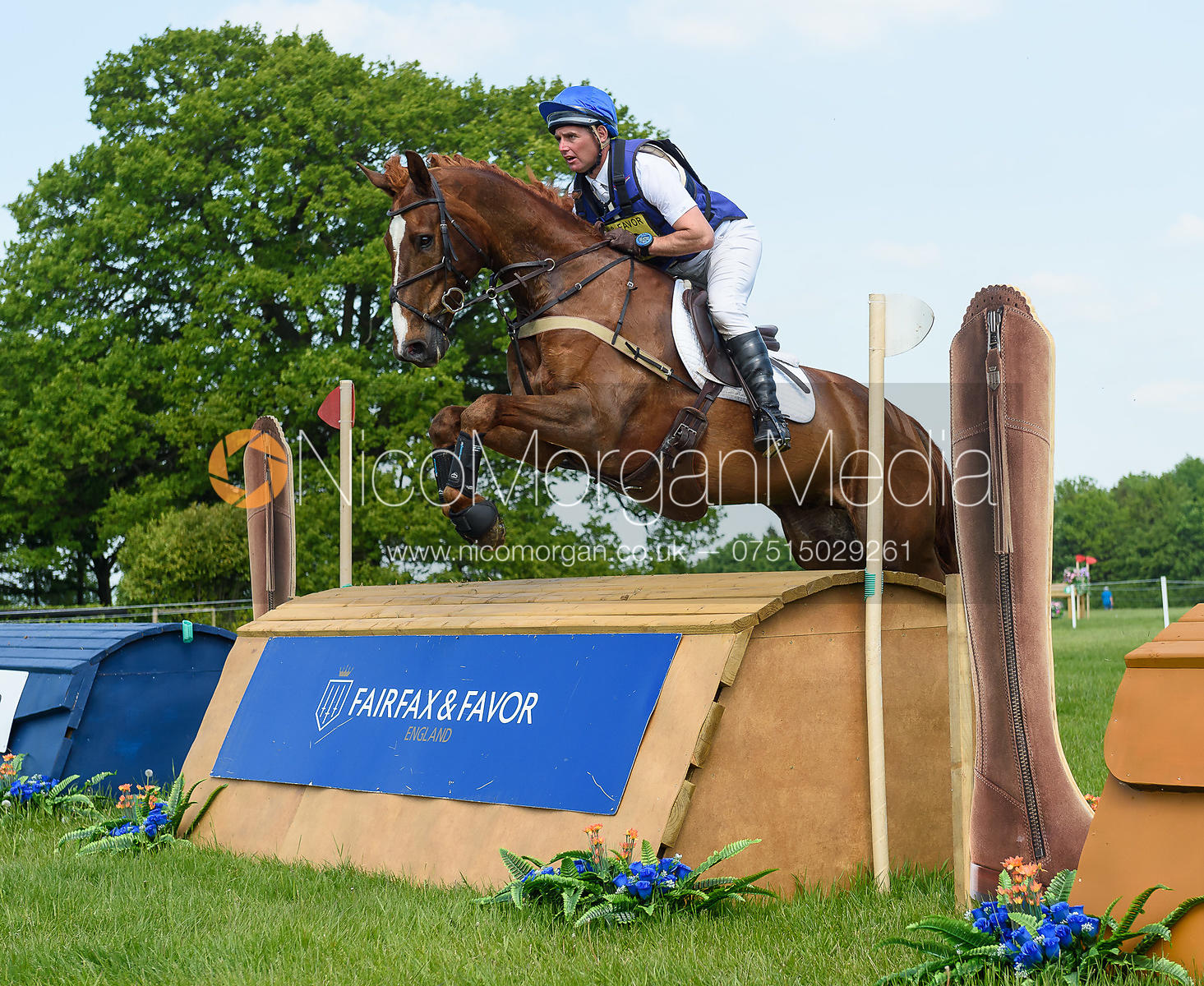 Andrew James and LORIENS HIGH AND MIGHTY, Fairfax & Favor Rockingham Horse Trials 2018