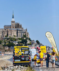 Tour de France Mobile Promotional Boutique
