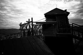 Camp Struthof Natzweiler Entrance watchtower