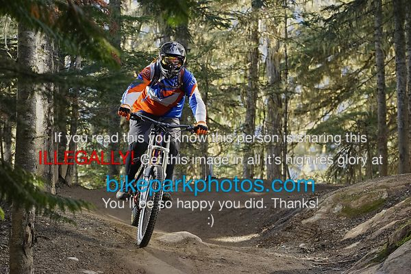 Thursday September 27th Upper BLine bike park photos