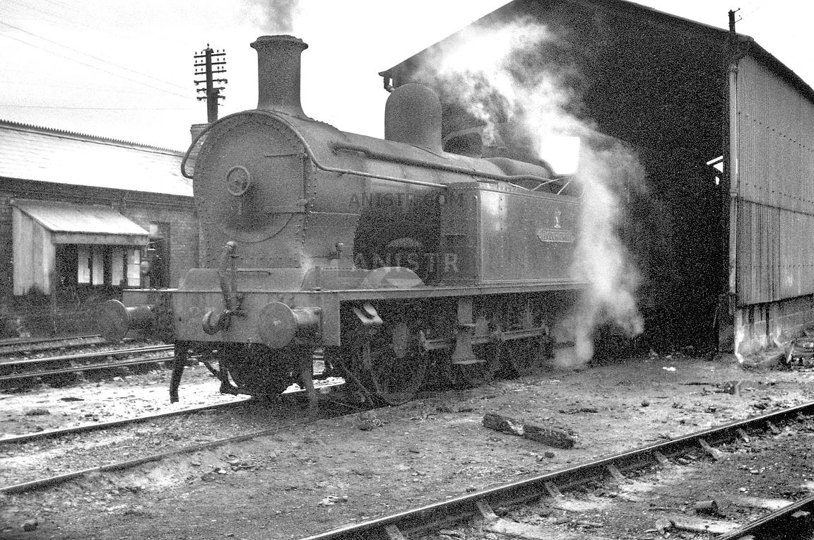 Steam loco Z 27 Belfast York Road
