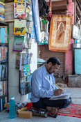Mohammed Ghalib the last calligrapher in Old Delhi