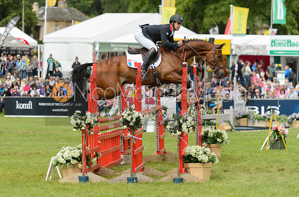 Francois Pons and SIAM TALEYRANDIE - Bramham International Horse Trials, June 2017