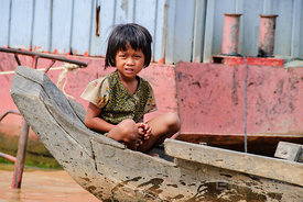 Young Girl in Boat