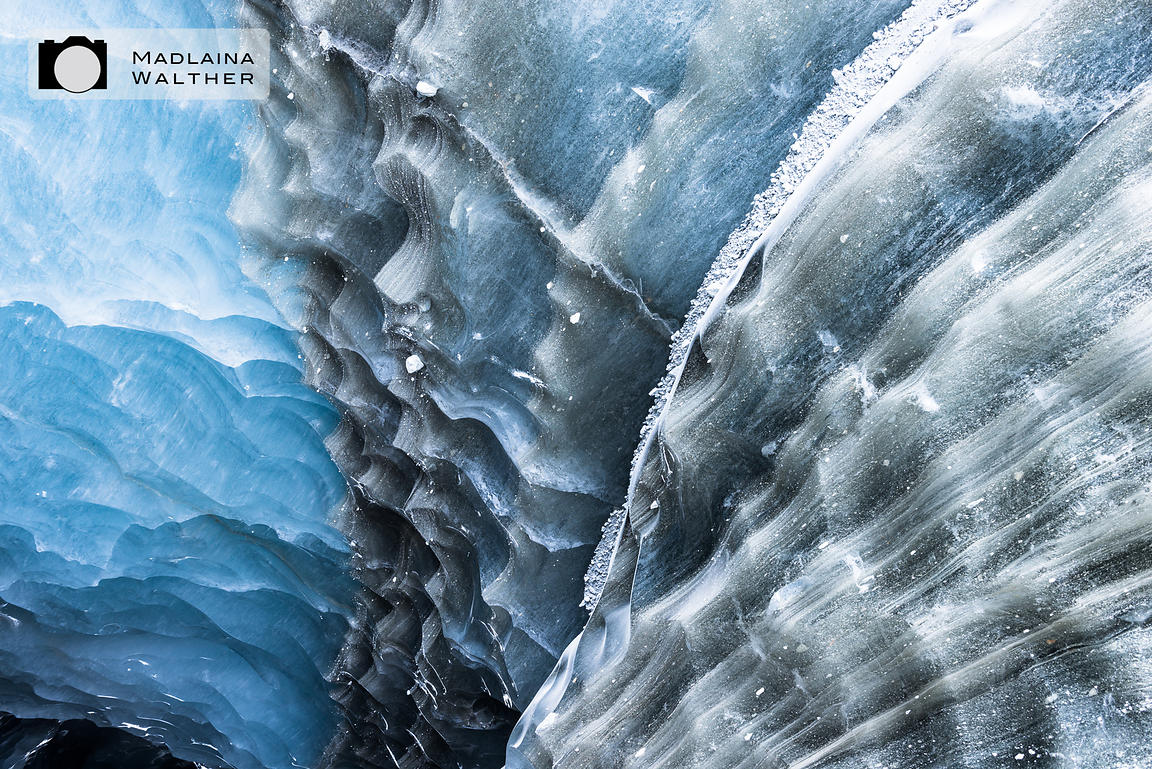 Detail of the glacier.