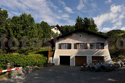 Chasa Alcyon - Villa Agnelli (FIAT) in the Suvretta Region of Saint Moritz.