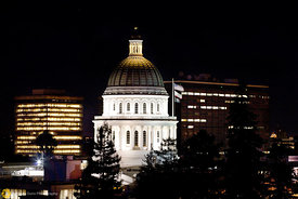 The State Capitol Building at Night #2