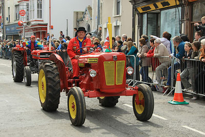 Barley Saturday vintage parade