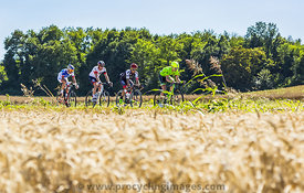 The Breakaway in the Plain - Tour de France 2016