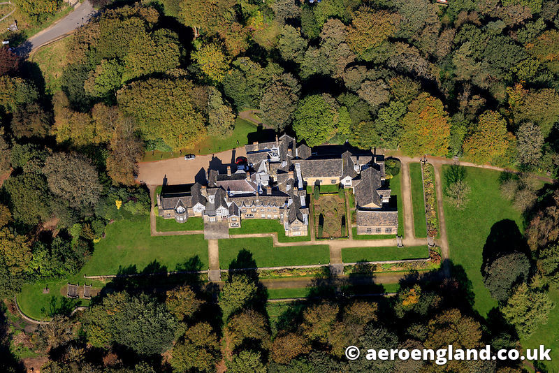 aerial photograph of Smiths Hall , Bolton Lancashire  England UK