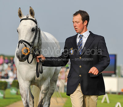 Dag Albert and Tubber Rebel - 2nd Inspection - Burghley 2010