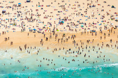 Bondi Beach Crowds