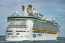 Independence of the Seas Departing Southampton.