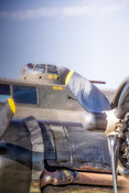 Memphis Belle- Left Engines and Gun Turret (V)