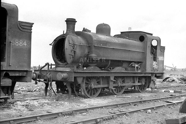 PHOTOS OF J52 CLASS ER 0-6-0T STEAM LOCOS