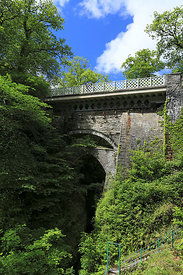 The Three Bridges from the Punchbowl side, Devils Bridge