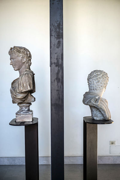 Detail Of A Sculptures In The Museum Of Saint Agostina
