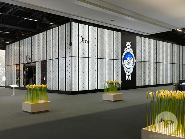 Retail architecture photographer - Dior Horlogerie Baselworld 2015. Photo ©Kristen Pelou