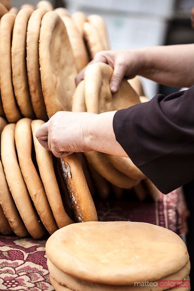 Typical arab bread, Xinjiang, China