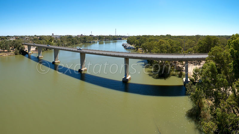 George Chaffey Bridge, Mildura, Australia.