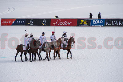 Day 1 - Team Azerbaijan v Team Maserati - Snow Polo St.Moritz