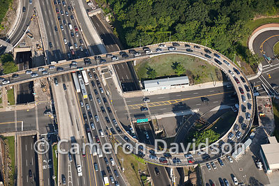 Geroge Washington Bridge Aerial