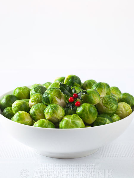 Brussel sprouts in a bowl